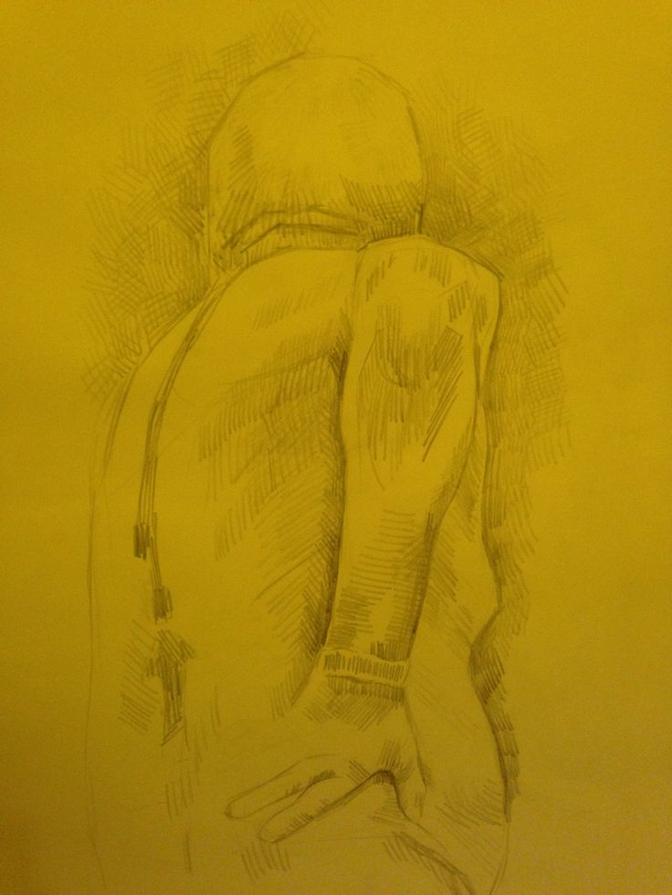 LIFE DRAWING - 30 minute life drawing in pencil