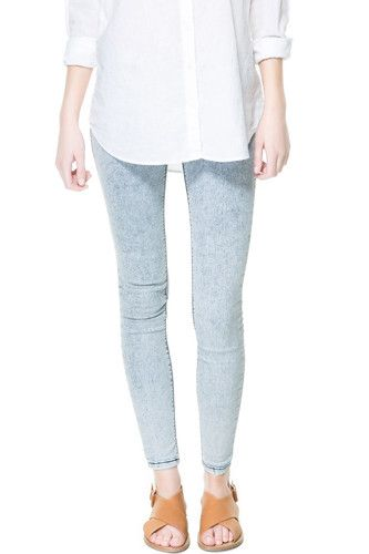 Lazy Girls, Rejoice! 10 Jeggings You Can Wear Out Of The House+#refinery29