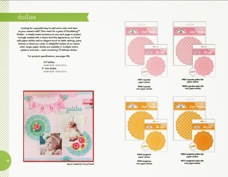 Doodlebug Design Inc Blog: Join our Doily Linky Party + Giveaway