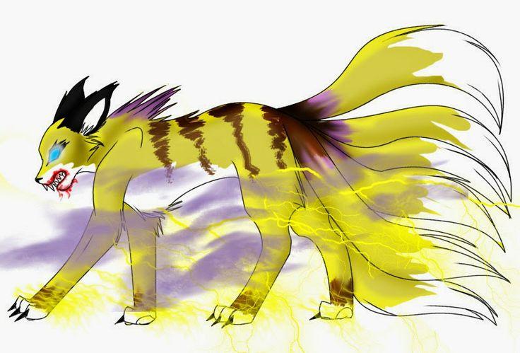 Rokubi No Raijuu Raijuu adalah Bijuu yang yang berbentuk seperti berang-berang, mempunyai 4 kaki dan kuku yang amat tajam. Bila meraung seperti guntur. Aslinya, dia adalah dewa petir, tetapi karena pengaruh kekuatan Yamata no Orochi dia berubah menjadi monster. Raijuu bisa mengeluarkan listrik dalam jumlah besar untuk keperluan pertarungan. Bulunya berwarna emas dan ujungnya berdiri. Memiliki enam ekor yang bentuknya seperti petir, seperti dewa petir kuno.