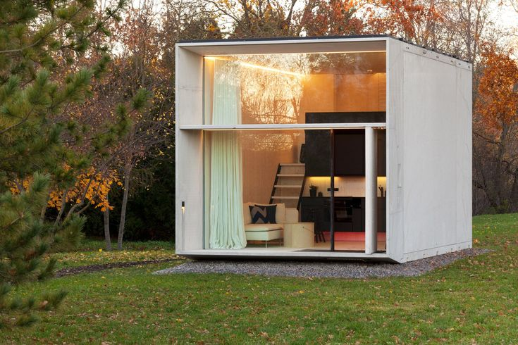 Estonia design collective Kodasema has created a tiny, prefabricated structure that can be dismantled and transported to another location in under a day.