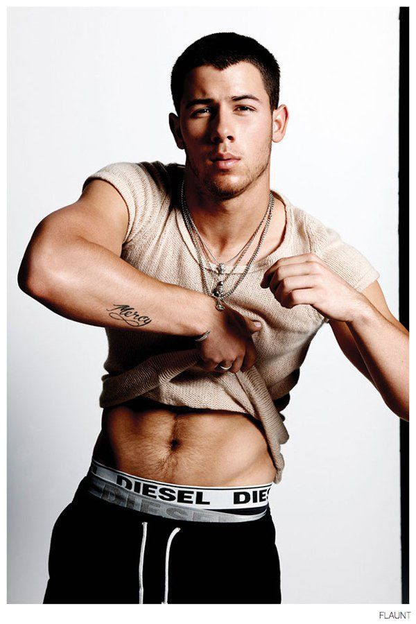See More Images from Nick Jonas Flaunt Cover Shoot image Nick Jonas Flaunt 2014 Photo Shoot 002