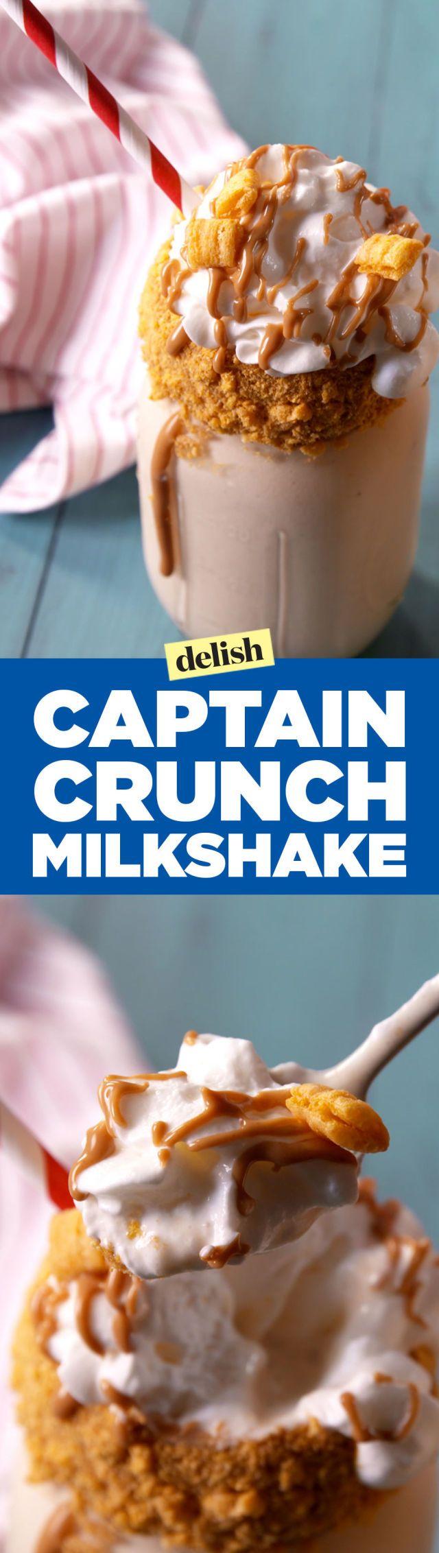 Damn Right, Cap'n Crunch Milkshakes Are the Best In The Yard