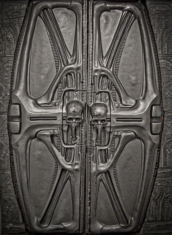 735 best images about art on pinterest for Prometheus xenomorph mural