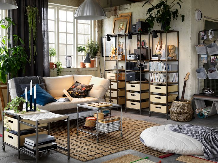 444 best IKEA Wohnzimmer  mit Stil images on Pinterest  Ikea living room Home and Homes