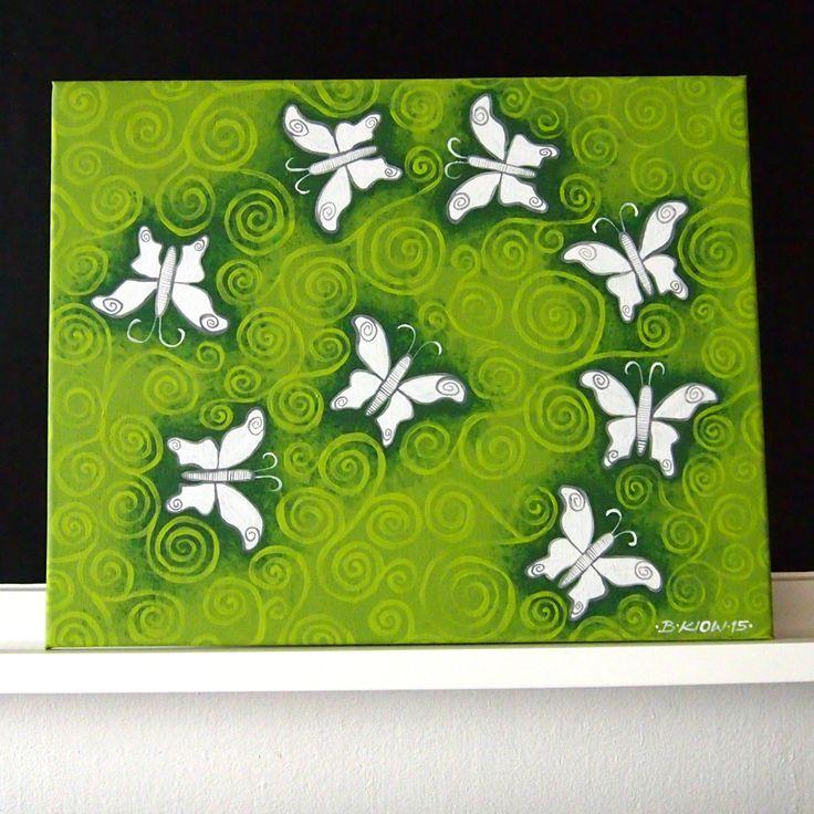 motýli v ornamentu| Ateliér B. KIOW