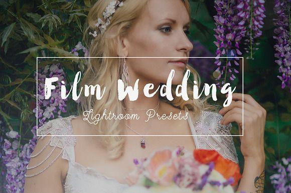 52 Wedding Film Lightroom Presets by Zoku_Designs on Creative Market