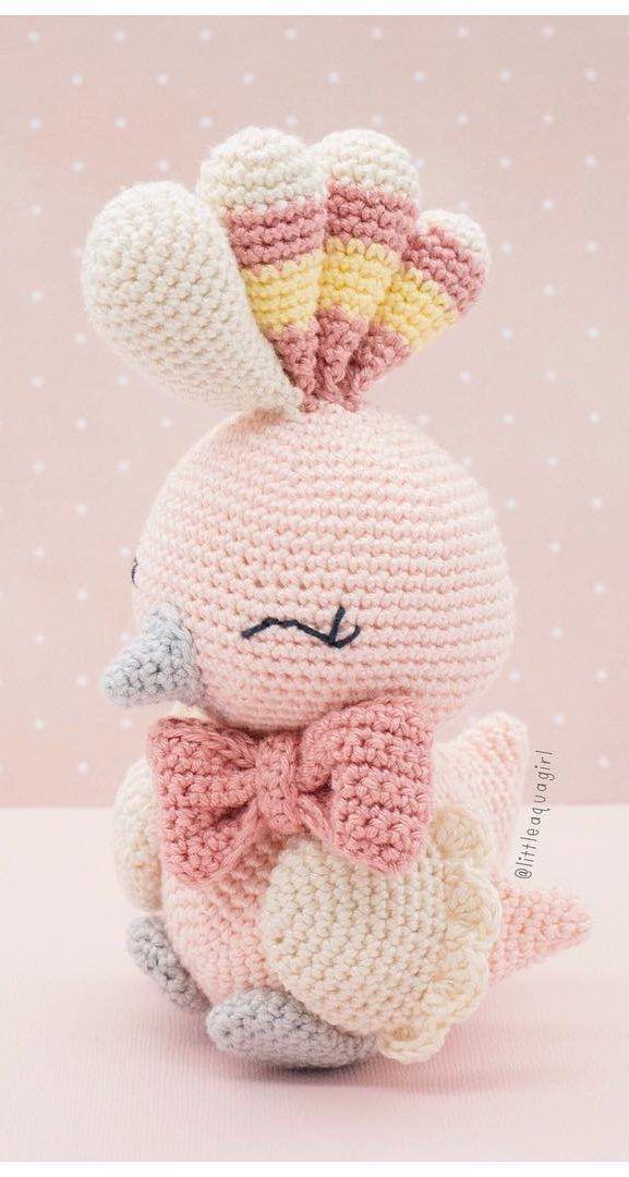 free crochet bird patterns Archives ⋆ Crochet Kingdom (10 free ... | 1080x577