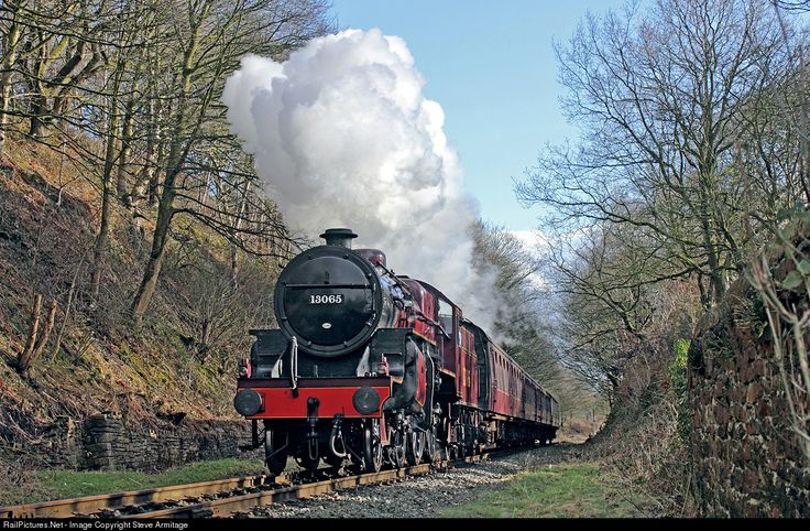 RailPictures.Net Photo: 13065 London Midland & Scottish Railway Ex-LMS Crab class 2-6-0 at Summerseat, Nr. Ramsbottom, United Kingdom by Steve Armitage