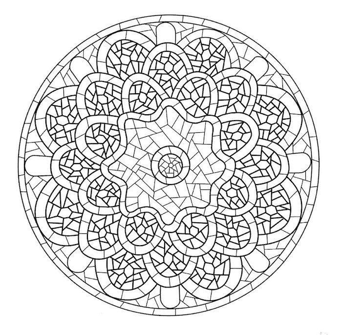 1001 Coole Mandalas Zum Ausdrucken Und Ausmalen Muster Malvorlagen Mosaikmuster Mandalas Zum Ausmalen