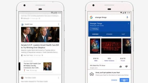 Googles news-bringing Feed is now available globally
