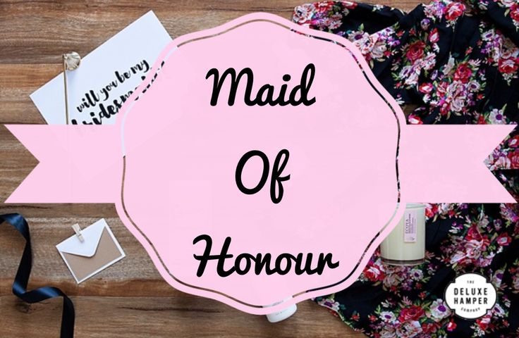Will you be my Maid Of Honour….. Satin Robe