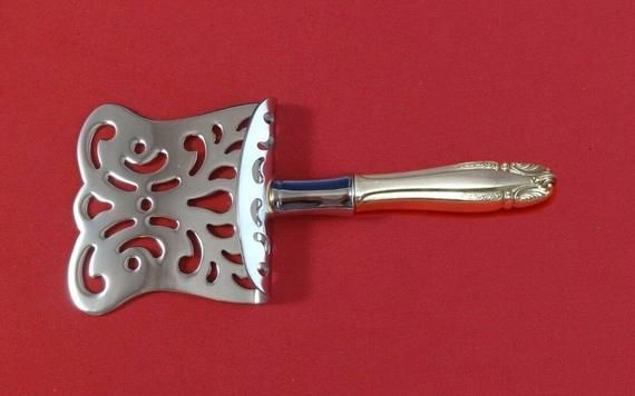 "Stradivari By Wallace Sterling Silver Asparagus Server HHWS Hooded 9 1//2/"" Custom"