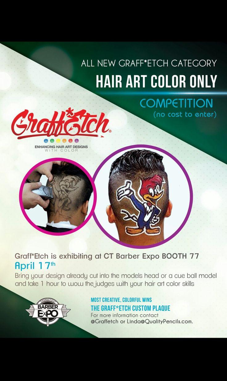 Poster design w graff - Hair Art Barber