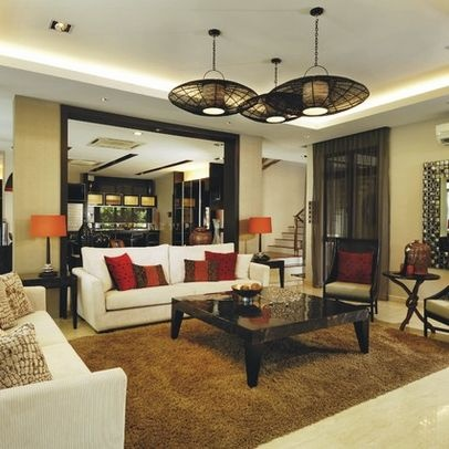 Tropical living room marble floors design pictures for Tropical living room ideas