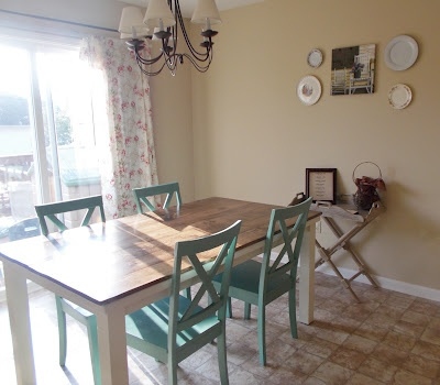 Diy kitchen/table remodel | For the Home | Pinterest