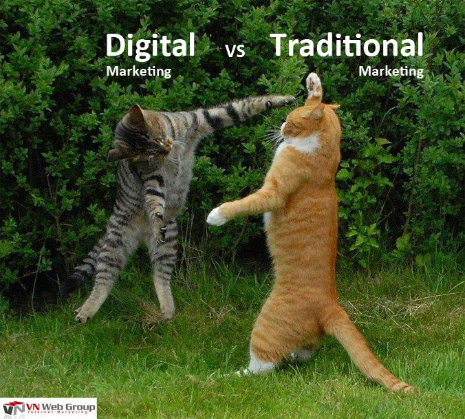 What is the difference between Digital marketing and Traditional marketing?   What is the best for your business?