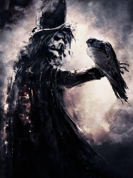 """Corvin"" | Artist: Arnaud De Vallois #gothic #horror #darkness"