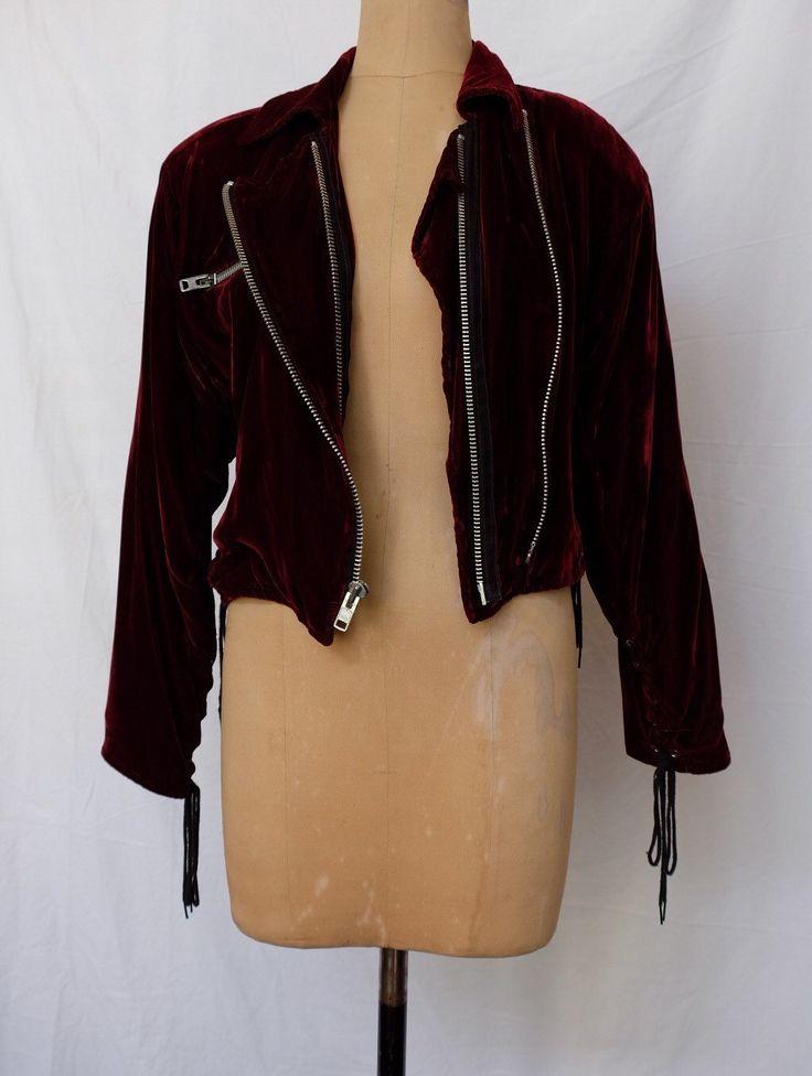 LIP SERVICE Crushed F**k'n Velvet jacket #VLLJKT