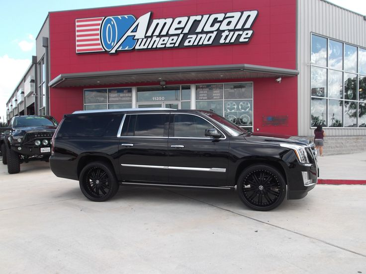 2crave N 176 11 Wheels In Matte Black On A 2015 Cadillac