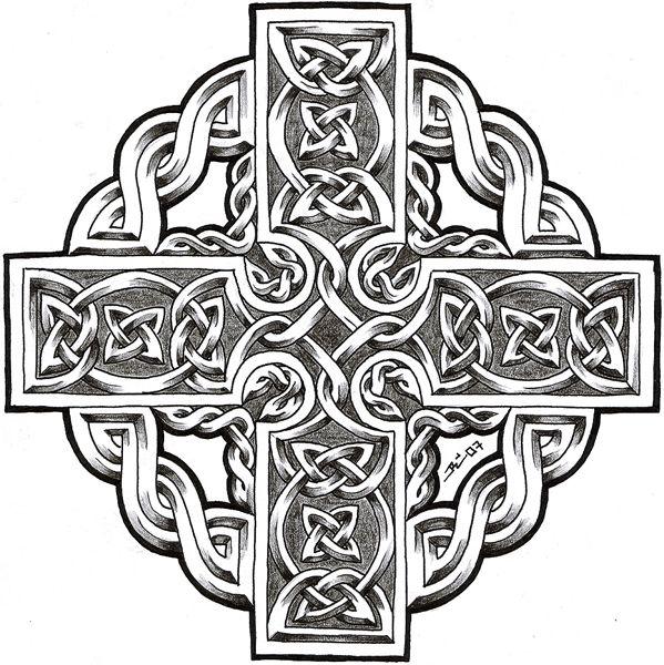 celtic cross by *roblfc1892 on deviantART