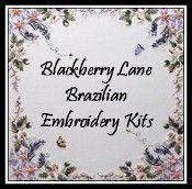 Blackberry Lane Brazilian Embroidery patterns #brazilianembroidery