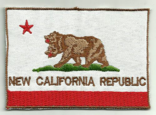 New California Republic Flag Cosplay Fallout Patch Sign NCR Vegas | eBay