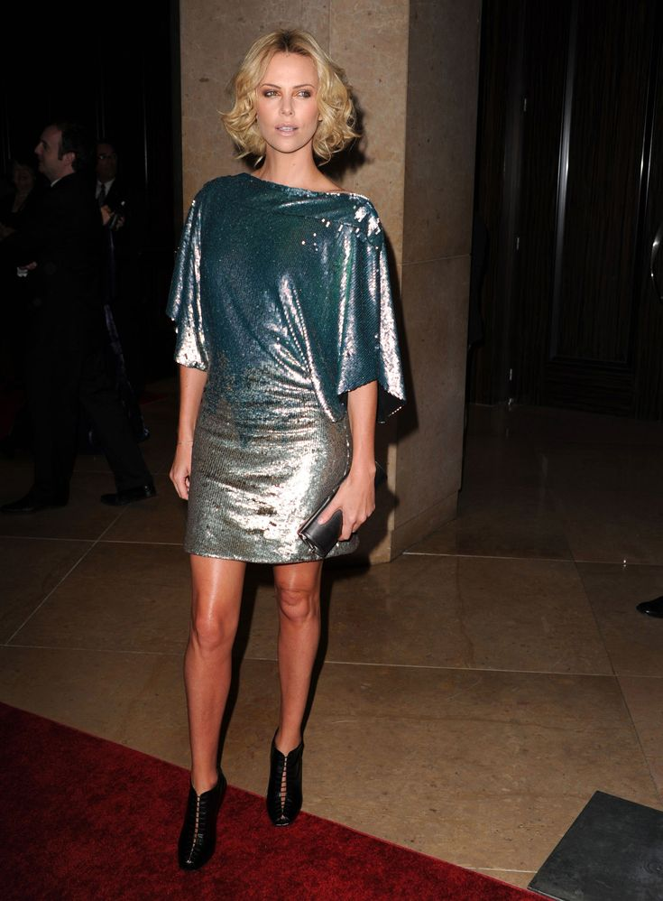 Charlize Theron, Dior Darling, Is All About Edgy Glamour on the Red Carpet