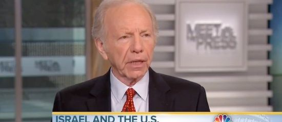 Joe Lieberman: If Dems Are As Good Of Friends Of Israel's As Republicans, Why Are They Boycotting Netanyahu's Speech? Read more at http://patdollard.com/category/politics/#yUIc0mrfQx5FprDG.99