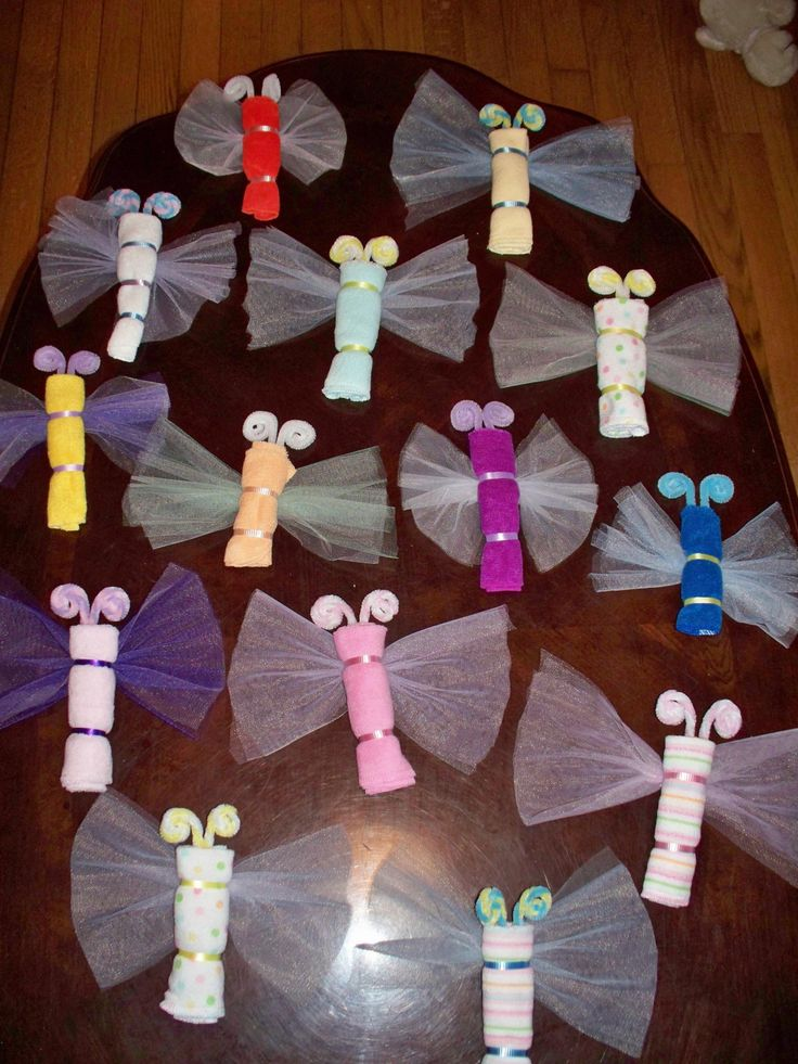 The 25 best homemade baby shower favors ideas on for Baby party decoration