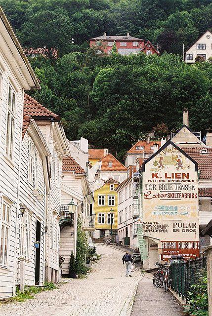 Lovely Bergen, Norway. #Norway ☮k☮ #Norge