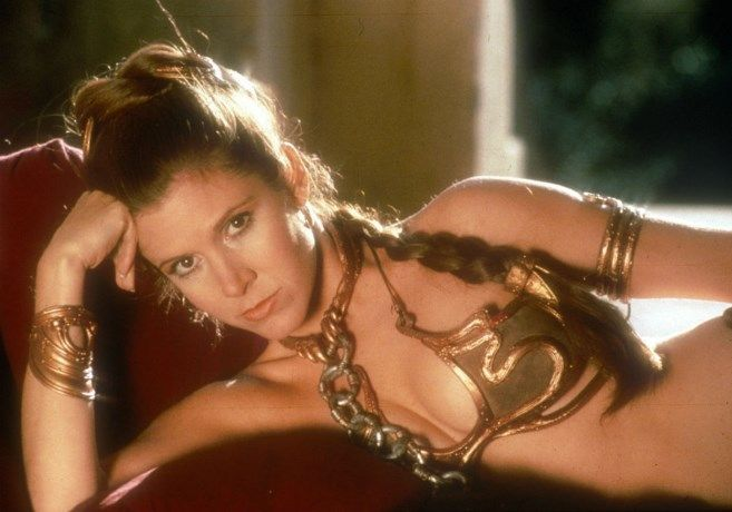 Dit wist je nog niet over de gouden bikini van prinses Leia - Het Nieuwsblad: http://www.nieuwsblad.be/cnt/dmf20161228_02648840?_section=67253205