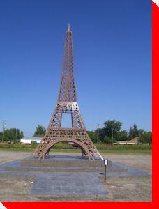 Eiffel Tower - Monmartre, Saskatchewan