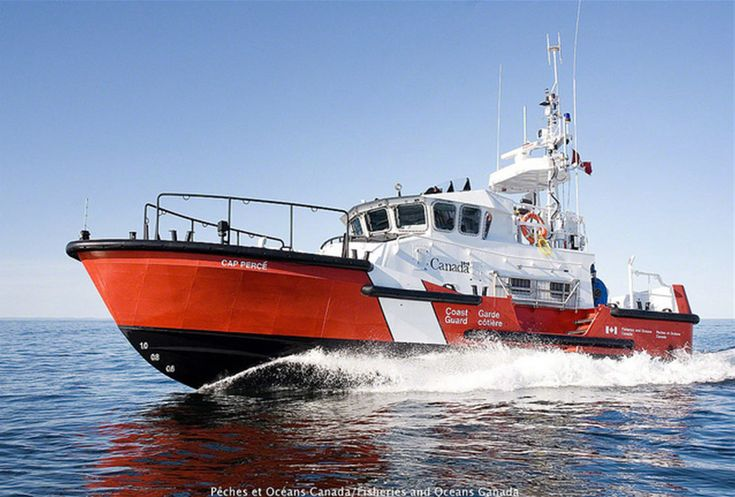 Canadian Coast Guard - Central and Arctic Region (Marinfo) - Canadian Coast Guard Fleet - Multi task high endurance lifeboat - T 300B