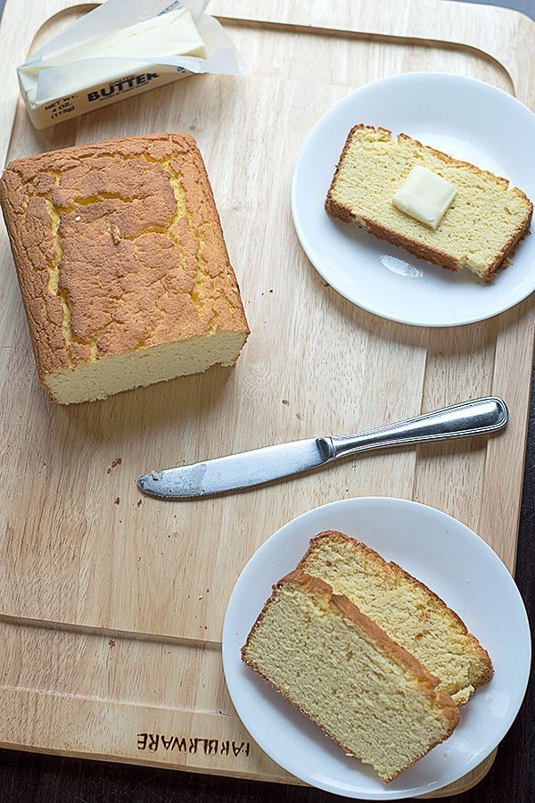 Low Carb Coconut Flour Bread (coconut flour, eggs, butter)