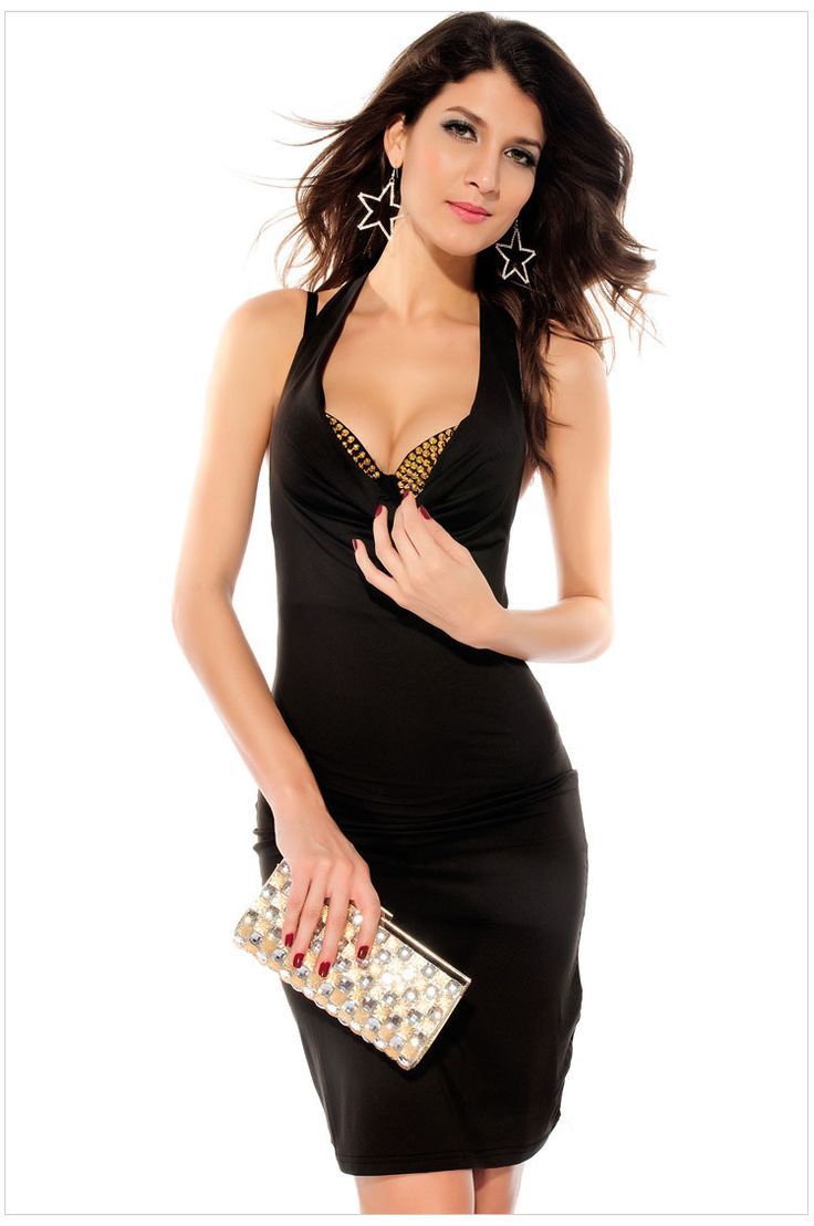 Fashion look from january 2013 featuring see through dress mesh - 2013 New Arrive Dress Women See Through Mesh Evening Dress Nightclub Sexy Dress Black Wholesale Promotion