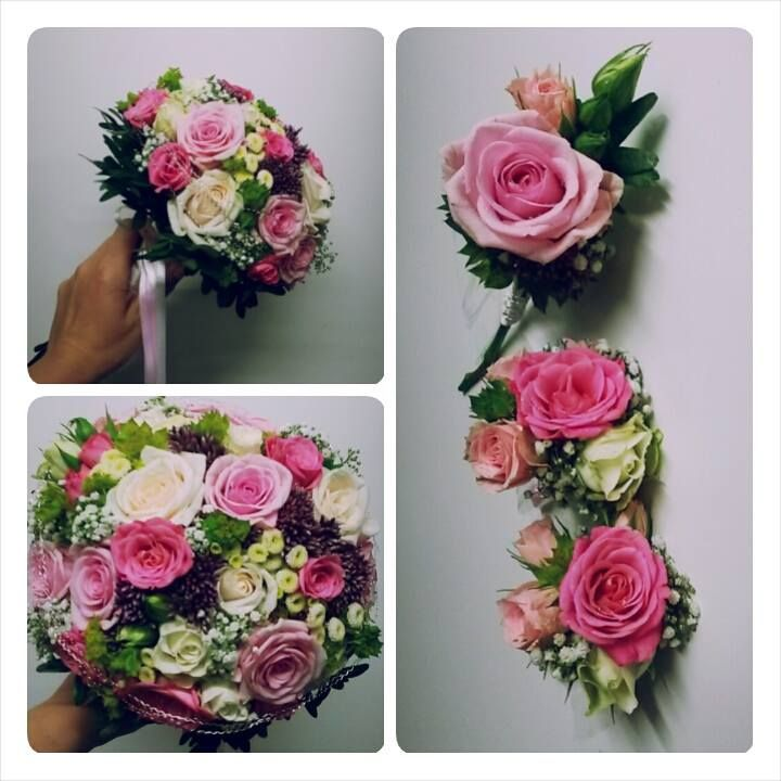 Růžové svatby letos frčí  #svatebníkytice #svatba #nevěsta #bride #wedding #bridalbouquet