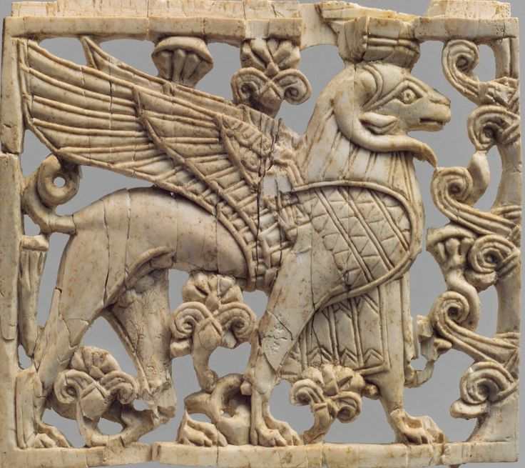 Слоновая кость. Сайт музея (en). Месопотамия, Нимруд