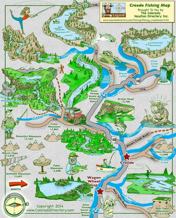 22 best co fishing maps images on pinterest fishing maps for Colorado fishing map