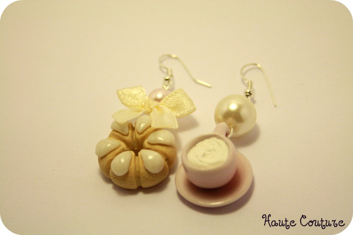 Blog Haute Couture: bijoux hand made con charms in Fimo
