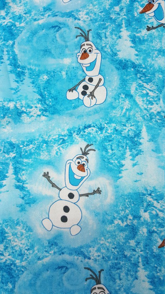 SALE - Olaf Frozen Fabric, Yardage, or Fat Quarter, Snowman, Let It Go, Snow Scene, Quilting Fabric, Cartoon Fabric, Kids Fabric  This is new (unused) soft, smooth 100% cotton apparel/quilting weight fabric cut to order. Perfect for apparel, quilting, table linens, home textiles, and craft projects. Care: Machine Wash Cold. Dry Low. SIZE & QUANTITY: Our fabric is usually priced and sold by the quarter, half, three-quarter, yard or fat quarter. Please select the size you would like th...