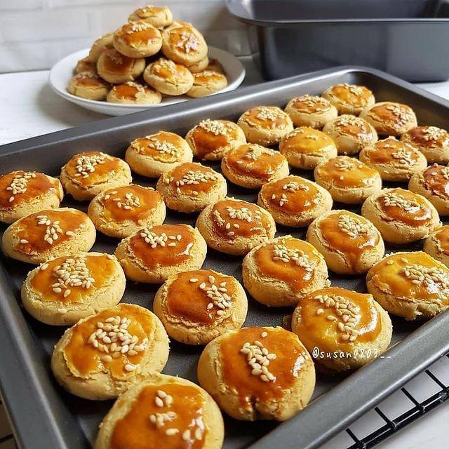 Resep Kue Kering Dan Camilan On Instagram Jangan Lupa Tap 2x Ya Mom Skippy Cookies By Susan0803 Bahan 200gr Selai Ka In 2021 Food Hamburger Bun Pretzel Bites
