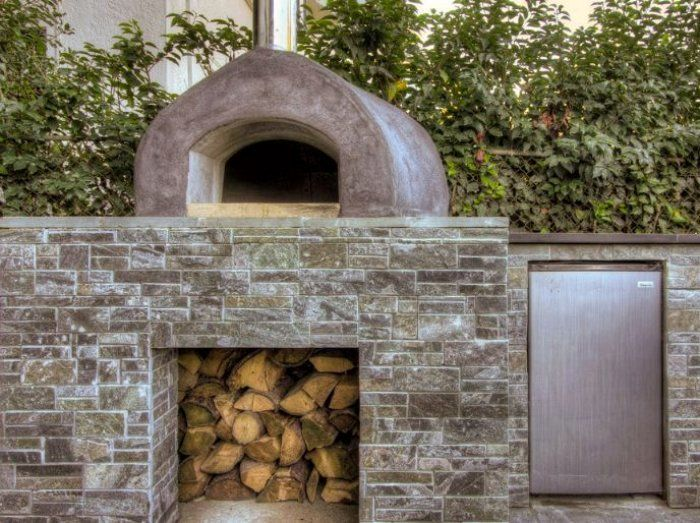 17 best images about stone ovens on pinterest wood fired oven wood storage and bread oven - Outdoor stone ovens ...