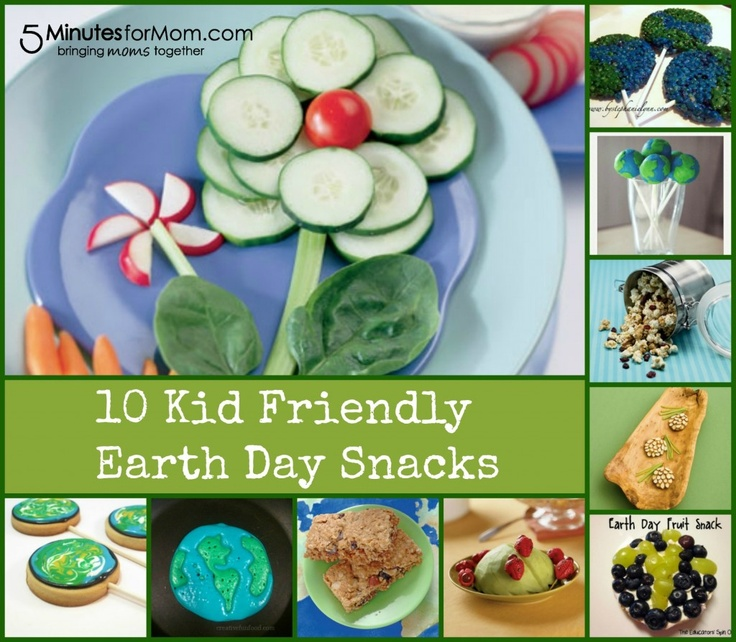 Kid Friendly Earth Day Snacks Earth Day Kid And Flower