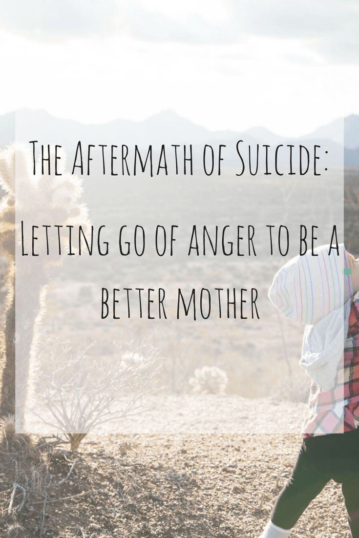Dealing with Grief as a Parent. The aftermath of suicide