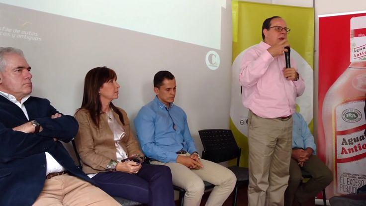 LUIS MIGUEL DE BEDOUT, EL COLOMBIANO CON DESFILE AUTOS CLASICOS Y ANTIGUOS
