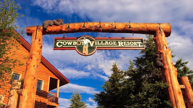Cowboy Village Resort in Jackson, WY