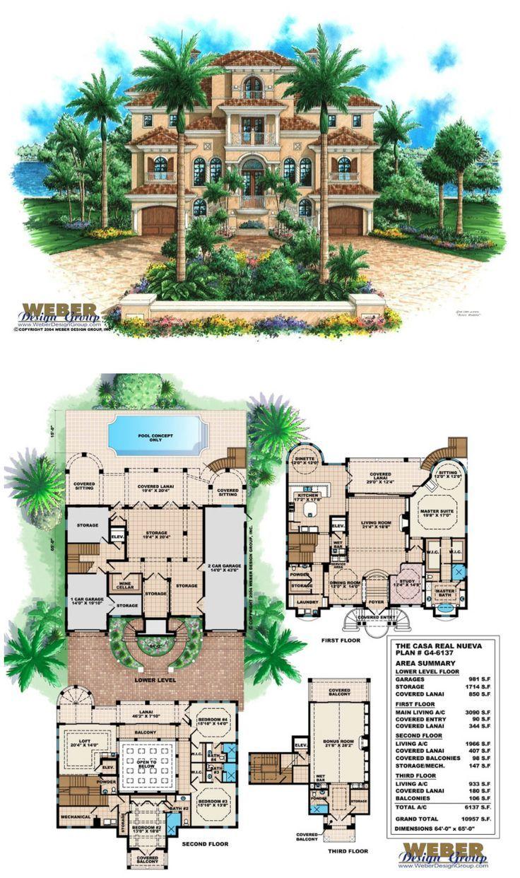 Mediterranean House Plan Mediterranean Tuscan Beach Home Floor Plan Mediterranean House Plan Mansion Floor Plan Luxury House Plans