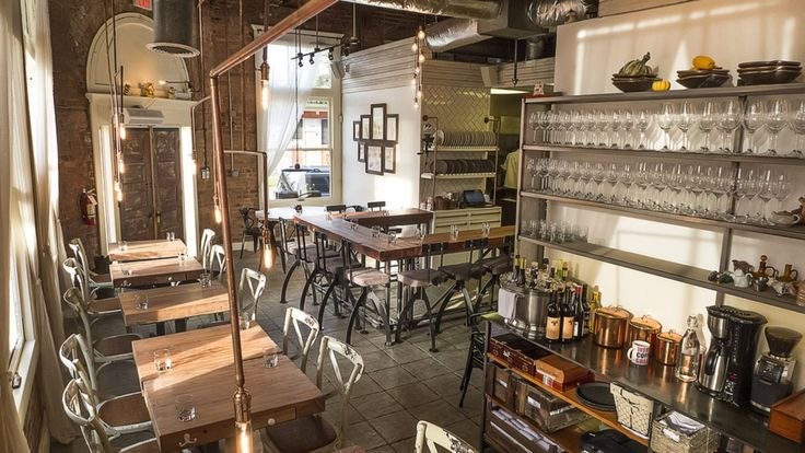 "Guess what's open? The ""secret"" bar from Oxheart's Justin Yu and his former sommelier Justin Vann. CultureMap reports that the bar, Public Services Wine & Whisky is now serving, albeit urging..."
