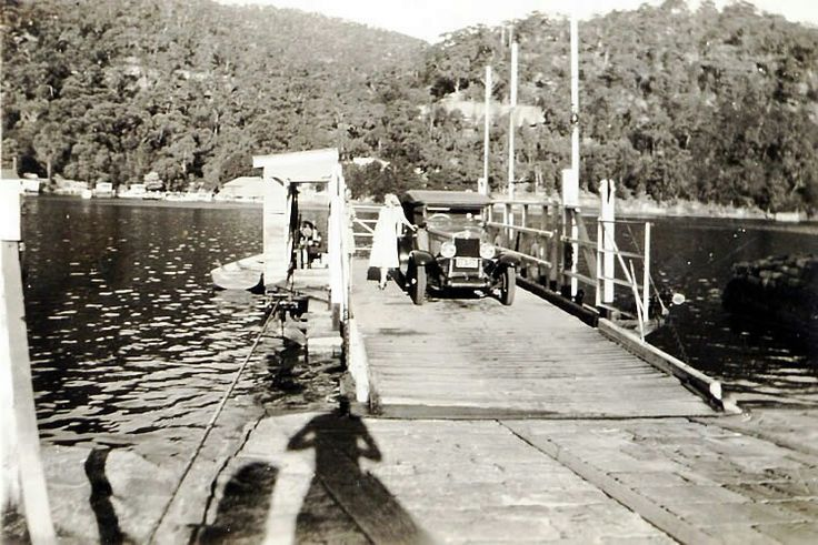 Berowra Waters, north of Sydney, (Photo undated), possibly in the late 1920's. v@e